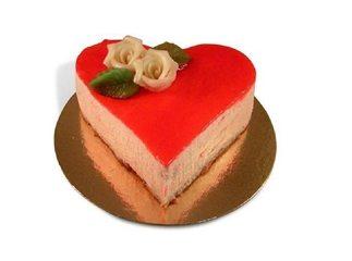 Allerliefste Hart taart