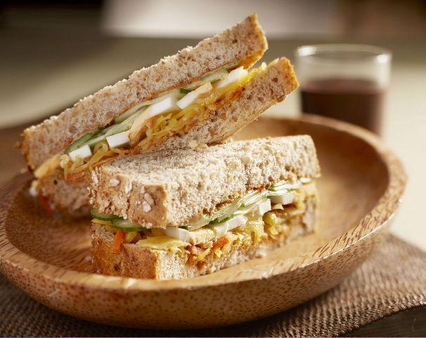 lunchtip Indische sandwich