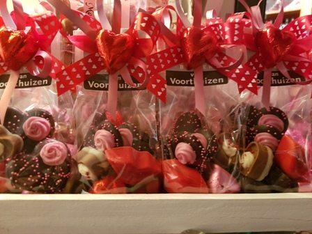 Zakje Love chocolate