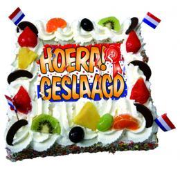 hoera-geslaagd-taart