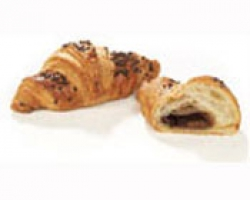 Kleine broodjes chocolade croissant