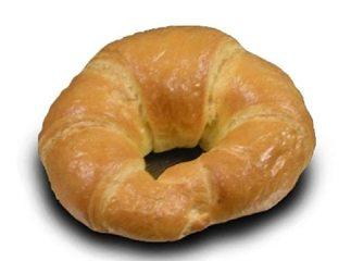kleine broodjes croissant