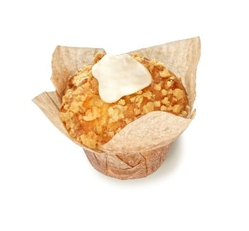 Bosbes cheesecake muffin
