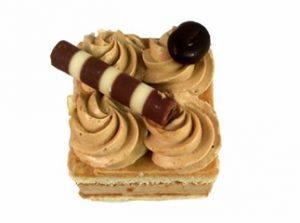 mokka cake petit -four €1,85