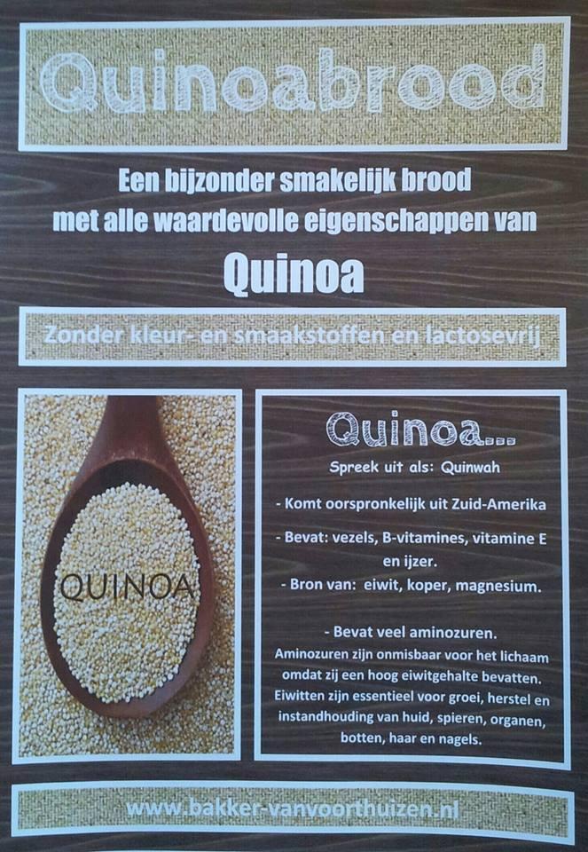 Quinoabrood