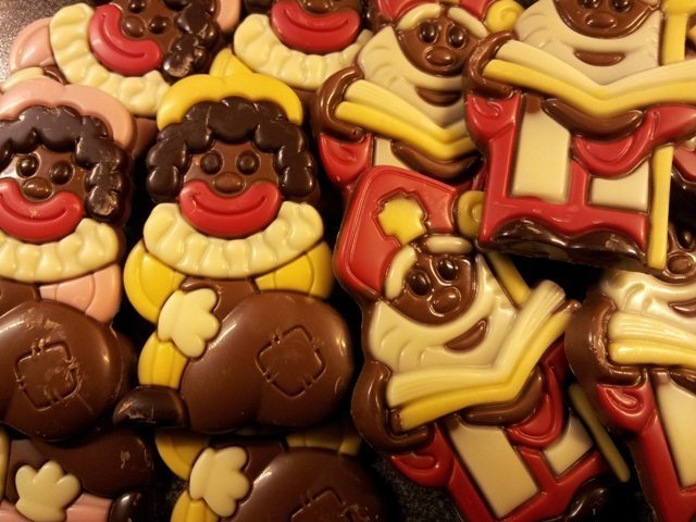 Sint en Piet chocolade