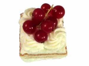 slagroom cake petit - four €1,85