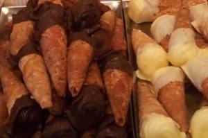 Creme hoorntjes, vanille of mokka