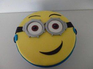 minion taart Bakker van Voorthuizen